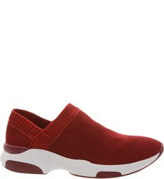 Tênis Knit Minimal Red