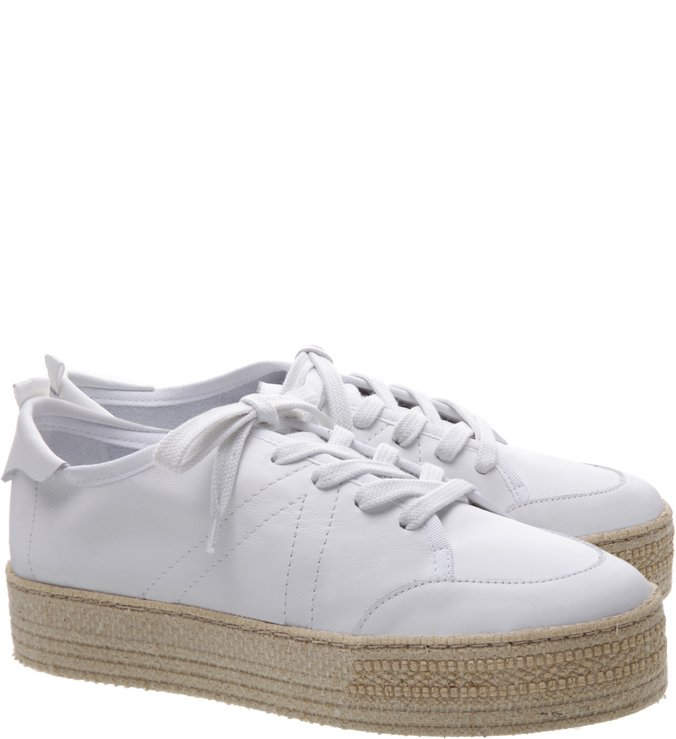 Tênis Flatform Natural White