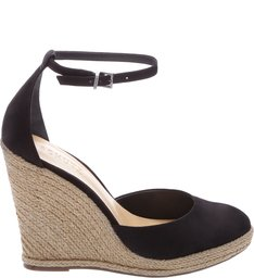 Wedge Espadrille Black