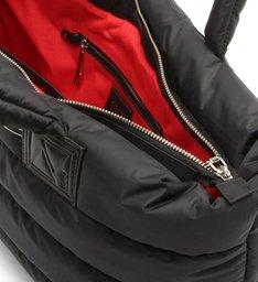 Shopping Bag Fluffy Black