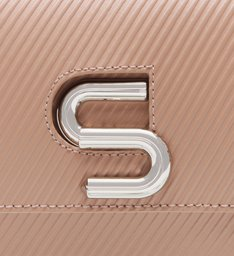 The S Bag Couro Rib Neutral
