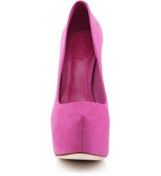 Scarpin Retrô  Diva High Pink
