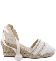 Espadrille Natural Summer Pearl