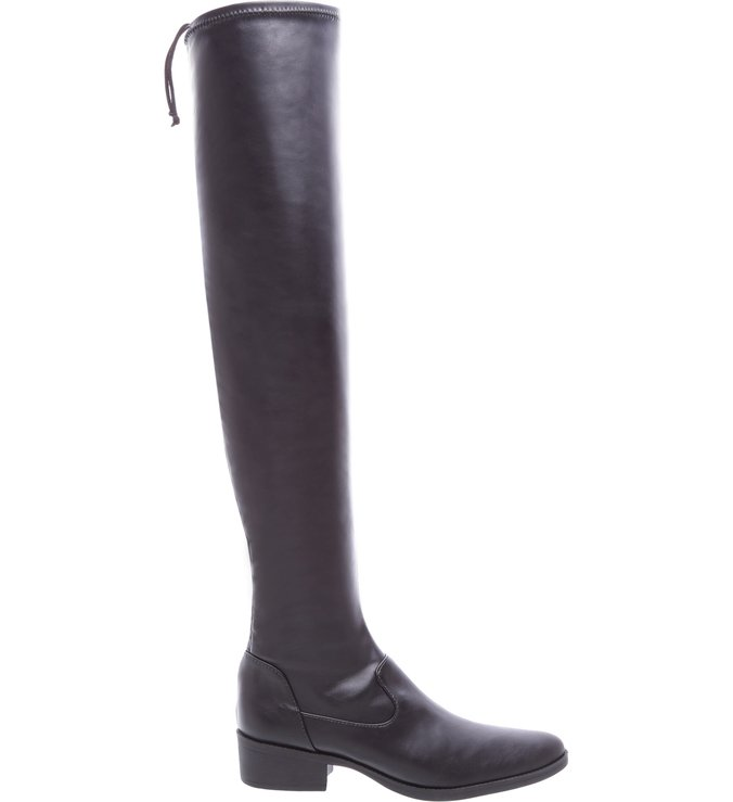 Bota Over The Knee Strech Black