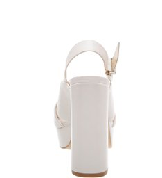 Plataforma Bold Block Heel Pearl