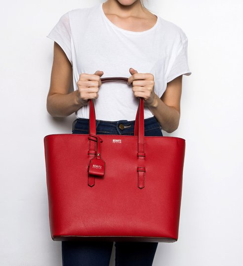 Shopping Bag Alex Red
