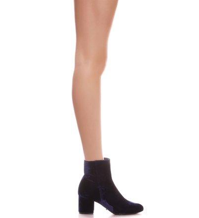 Slim Boots Velvet Navy PRE-FALL