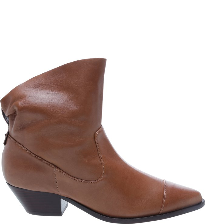 Bota New Western Slouchy Brown