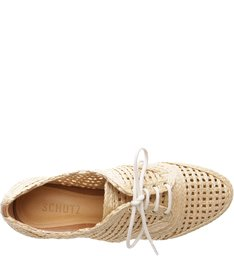 Oxford Flatform Straw Natural