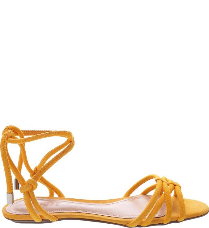 Sandália Rasteira Strings Yellow