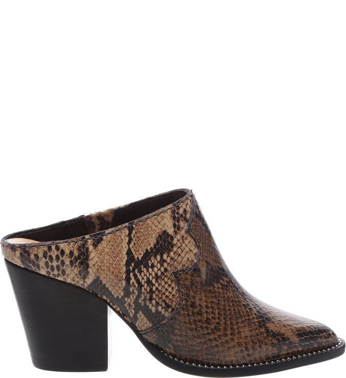 Mule New Western Python Multicolor Neutral