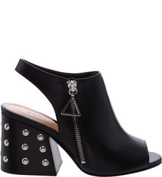 Open Boot Studs Black