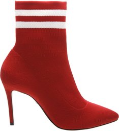 Gisela Sock Booties Red