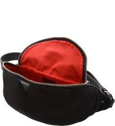 Belt Bag Nylon Sporty Black