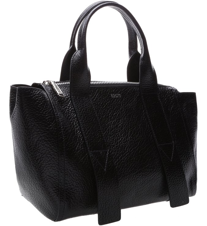 Mini Tote Trapézio Black