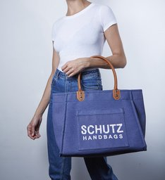 9e3d7c31a Maxi Tote Dress Blue | Schutz