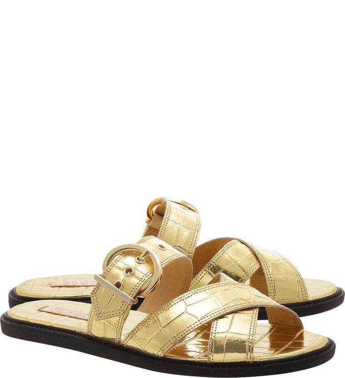 Slide Buckle Golden