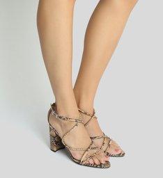 Sandália Python Curves