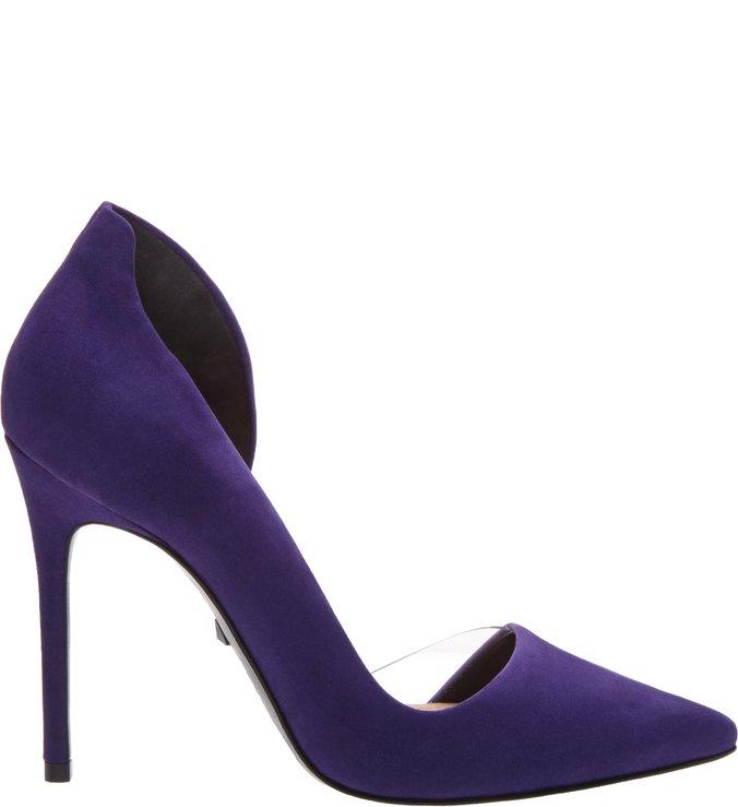 Scarpin Cut Out Purple