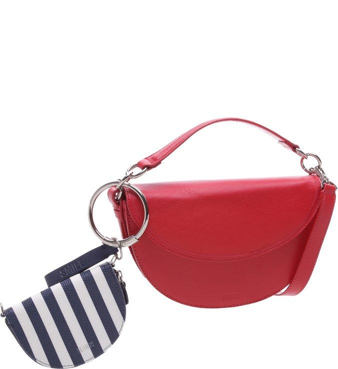 Saddle Bag Red + Little Bag