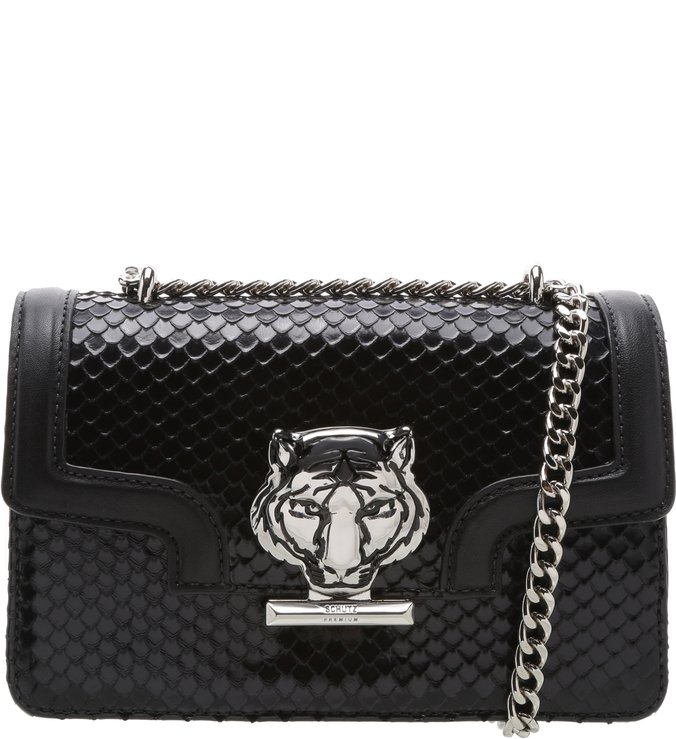 Crossbody Mini Hanna Bright Snake Black