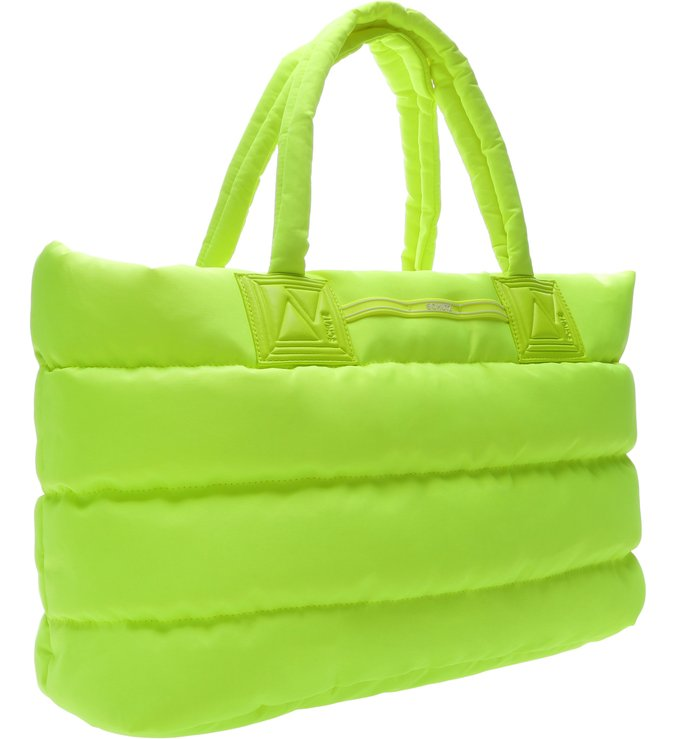 Shopping Fluffy Neon Yellow