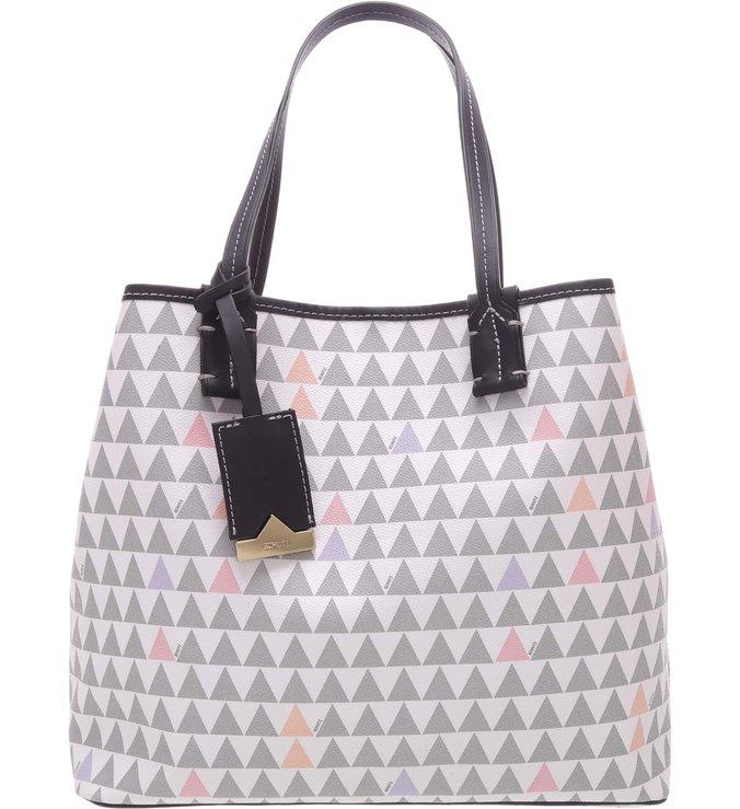 Shopping Bag Nina Triangle Clear