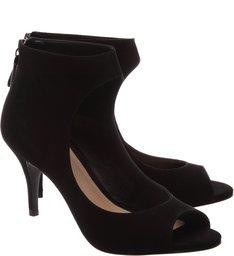 Peep Toe Boot Black
