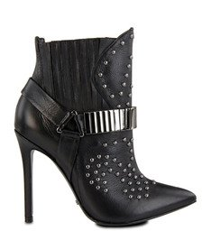 Ankle Boot Marching Orders Preta