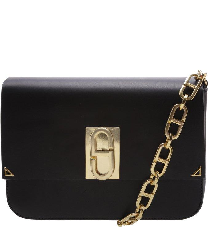 Crossbody Blue Bag Premium Black | Schutz