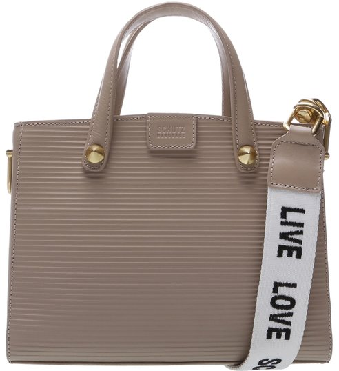 Mini Tote Live Love Neutral