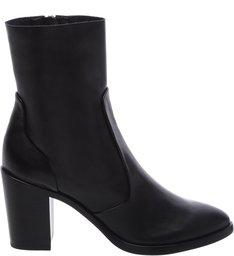 Stretch Boot Black Polido