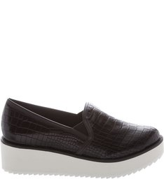 Slip On Flatform Black