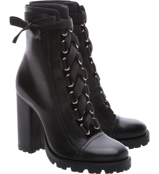 Pré Venda Combat Boots Sola Tratorada Leather Black