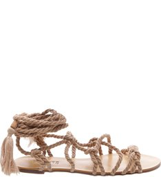 Flat Lace Up Cord Desert