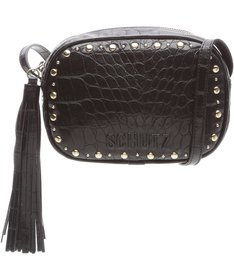 Baby Crossbody Kate Croco Black