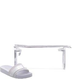 Kit Slide + Necessaire Stripe White
