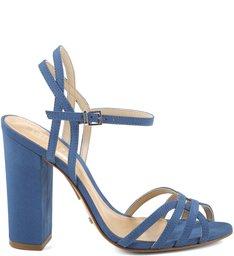 Sandália Block Heel Snorkel Blue