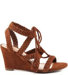 Sandália Trançadas Brown