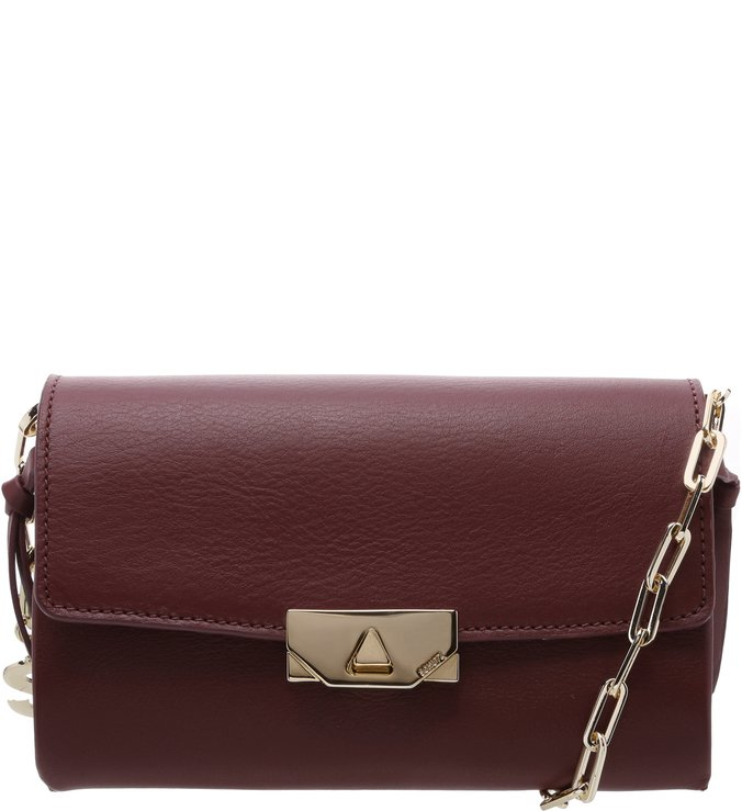 Clutch Crossbody Corrente Cabernet Sign Your Love | Schutz