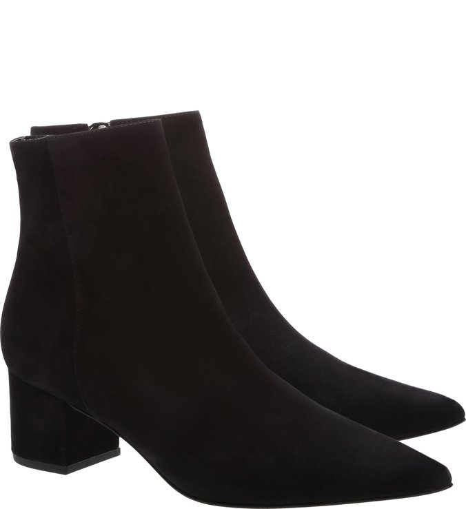 Bota Block Heel Slim Black