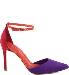 Scarpin Colorful Violeta