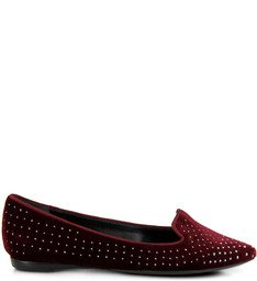 Slipper Tachas Bordeaux