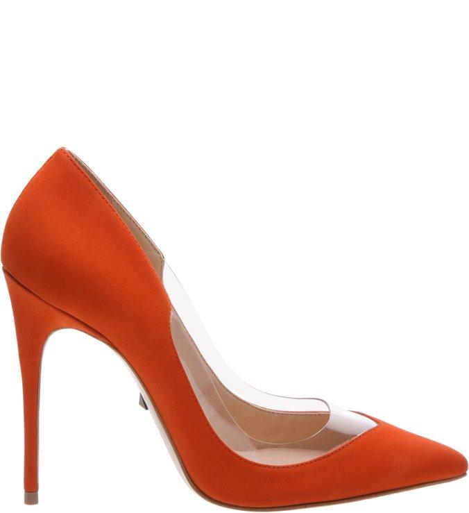 Scarpin Vinil Orange