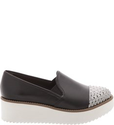 Flatform Slip On Black