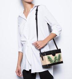 Mini Box Bag Tropical Natural