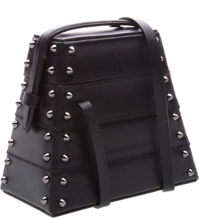 New Bucket Bag Lola Box Studs Black