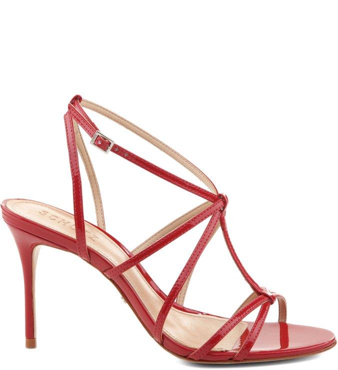 Sandália Thin Strips Red