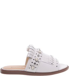 Flat Oxford Crystal Pearl