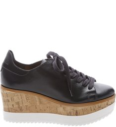 Tênis Flatform White Sole Black